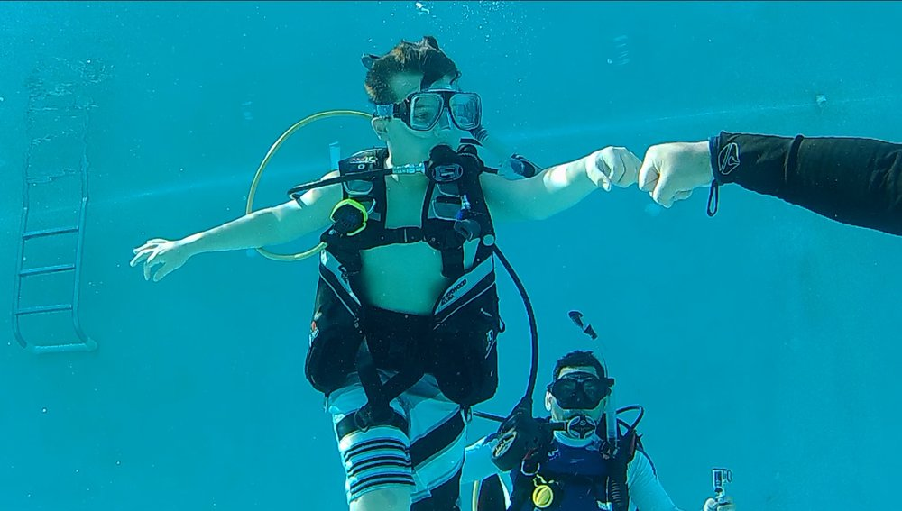 Discover Scuba Diving - Try Scuba for just $75 call to sign up todayClasses available in Portuguese and Spanish as well