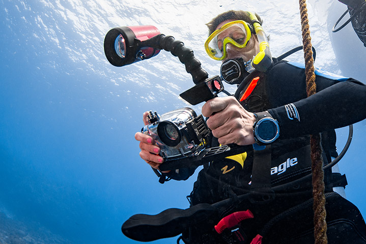 Digital Underwater Photography - Learn how to take care of camera equipment when in and around water.