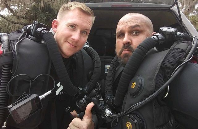 Congratulation to the newest #Poseidon Se7ve Rebreather diver Daniel. #diving #scuba #Orlando #Florida