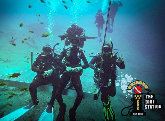 A great day of #diving at Blue Grotto for our #advanced students. #Florida #scuba