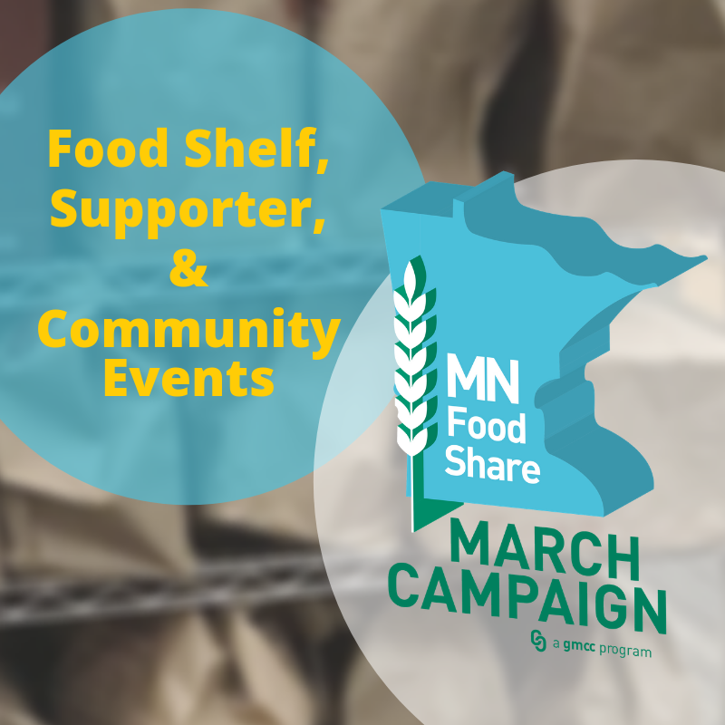 Food Shelf, Supporter, and Community Events