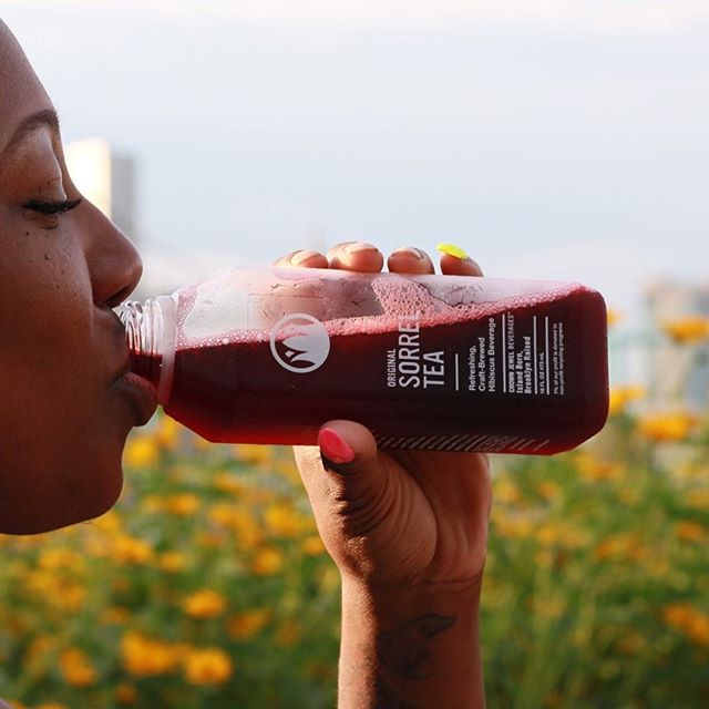 Tastes as good as it looks. Equally good for you. Order @foodkick . . . #sorreltea #caribbean #hibiscustea #healthyfood #beverages #manhattan #brooklyn #brooklynmade