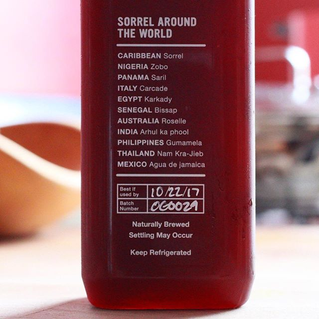 One of the oldest flower in the world enjoyed by many cultures in the world. We call it Sorrel. Order @foodkick . . . #sorreltea #hibiscus #healthyfood #beverages #zobo #saril #carcade #karkady #bissap #roselle #craftbrew