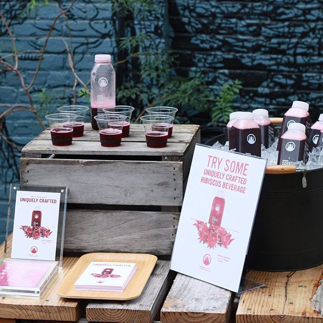 Stop by Peck's today to sample our original sorrel tea. Also available at their new location Peckish at 49 Willoughby Ave Brooklyn. . . . . #brooklyn #sorreltea #healthyfood #beverages #craftbrew
