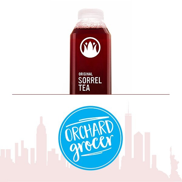 We're growing into new territory and proud to add @orchardgrocer . Our first brick and mortar in Manhattan to carry our product! Welcome to the Caribbean family and this ting called Sorrel. . . . . . #helathyfood #beverage #manhatten #newyorkcity #caribbean #hibiscus #sorreltea #crownjewelbeverages