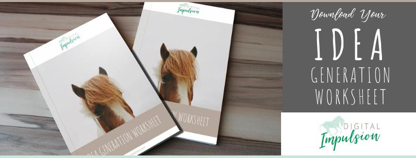 Equine business content ideas