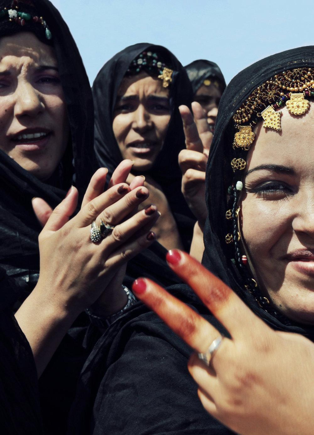 Kvinnene har dyrket likestilling i flyktningleirene siden de tok ansvar i oppbyggingen og organiseringen av leirene i 1975. Foto: Mali Galaaen Røsseth