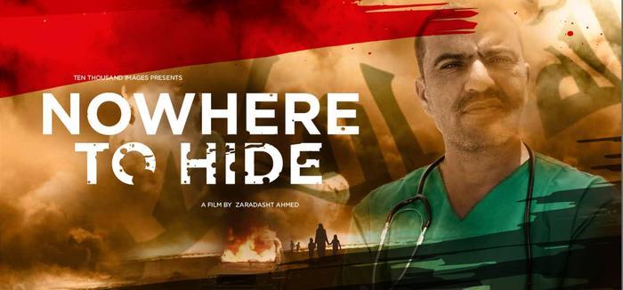 Nowhere to hide:  Ingen kan bombes til fred, frihet eller demokrati. Denne dokumentaren viser den katastrofale utviklingen av Irak etter amerikanerne trakk seg ut.