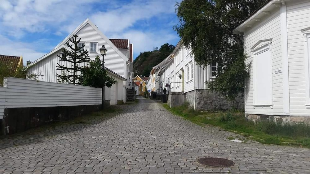 Mandal, a sleepy town on the coast of Southern Norway is now host to thousands of refugees