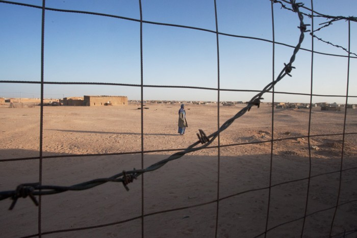 """Some of the prisoners have been placed alone in a prison, isolated from the rest of the group, in a prison in Morocco, far from their families."" Photo: Mali Galaaen Røsseth"