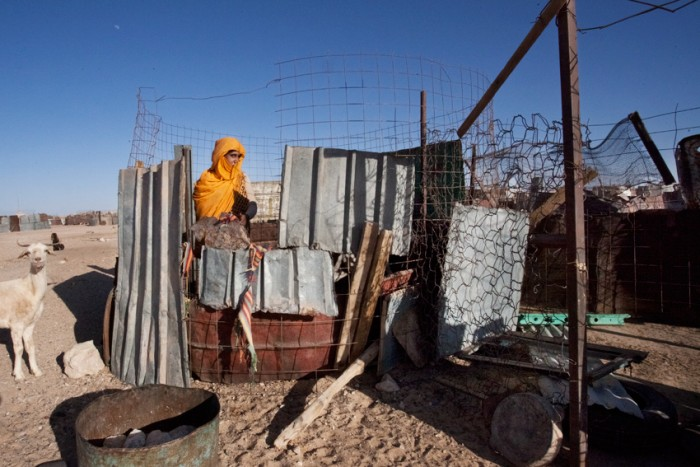 """Western Sahara is still listed as a non-self-governing territory, and is still entitled to the right to self-determination."" Photo: Mali Galaaen Røsseth"