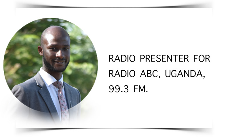 - I am Alfred Dzaoneni from Lilongwe, Malawi. I have 9 years of broadcasting experience especially in radio. I am an alumnus of African Bible College (Uganda Campus) with a Bachelor of Arts Degree Majoring in Biblical Studies with a Minor in Communications. Currently serving as a Radio Presenter for Radio ABC, Uganda, 99.3 FM. I am passionate in living for Christ and serving him in cross cultural missions.