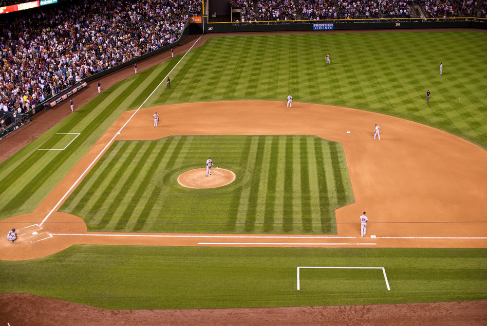 Baseball Diamond by Geoff Livingston courtesy of Flickr
