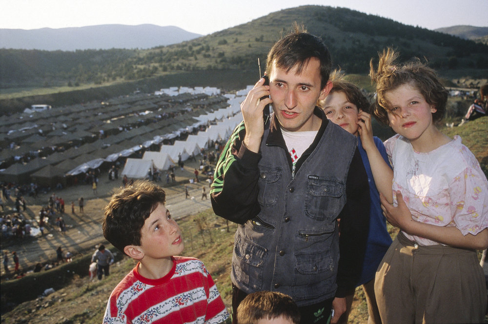 Kosovo Refugees by United Nations Photo courtesy of Flickr