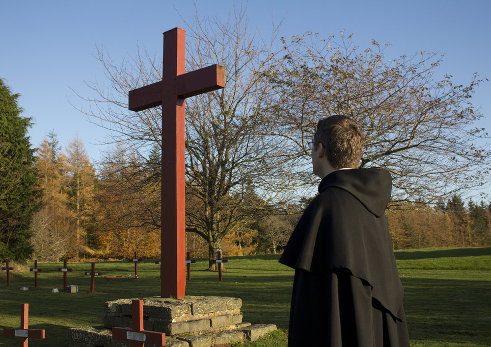 Nunraw Cross by Fr Lawrence Lew, O.P. courtesy of Flickr