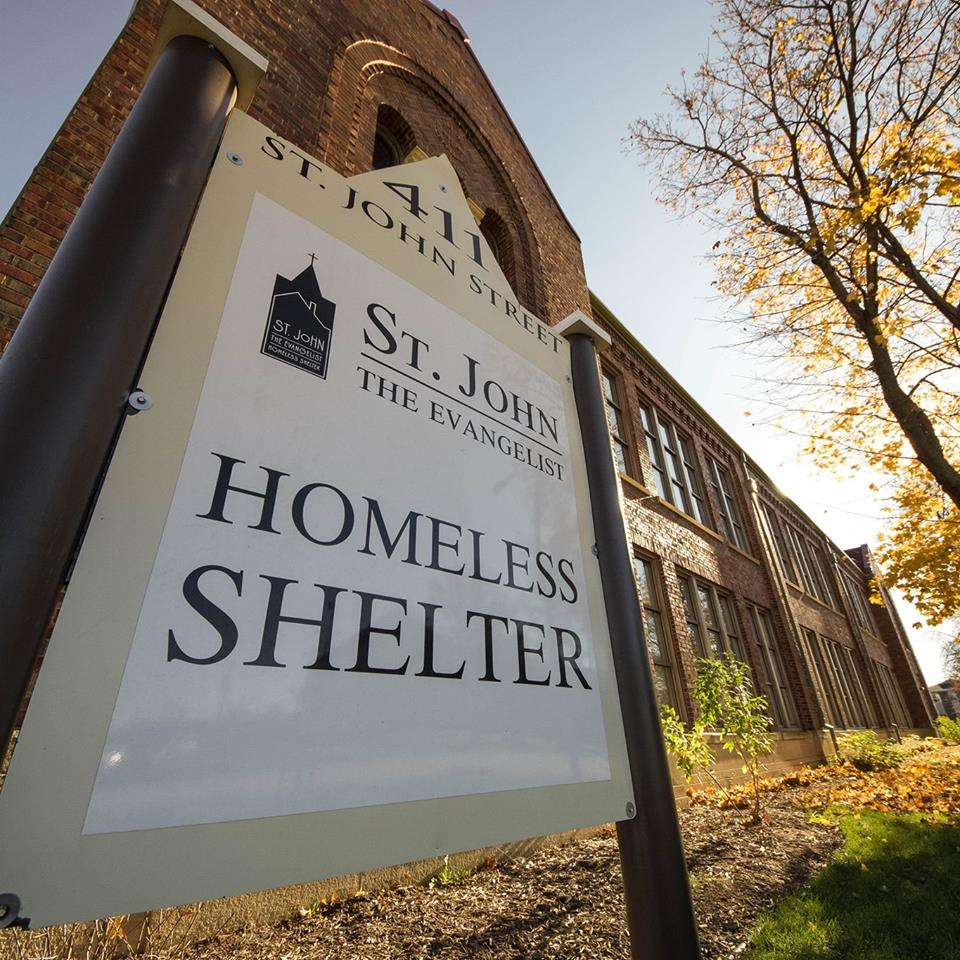 justice for all give shelter to the homeless resurrection