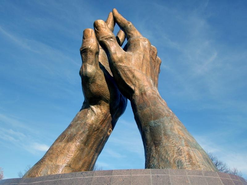 The Healing Hands by Joseph Novak