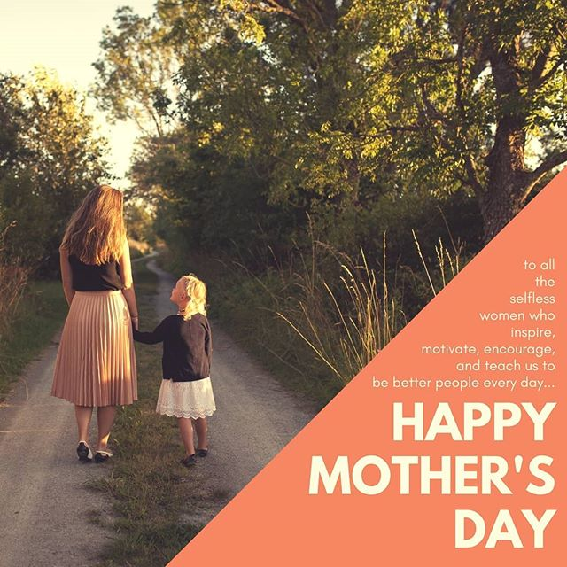 To all you ladies rocking at the hardest and most rewarding job in the world... #happymothersday