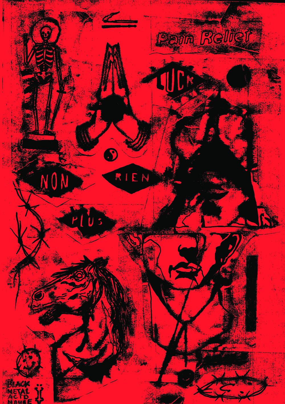 REDPALE / POSTER    Edition of /10 + 1 AP Digital ink Print on Paper Signed and numbered by the artist 42 × 29.7 cm London, 2018