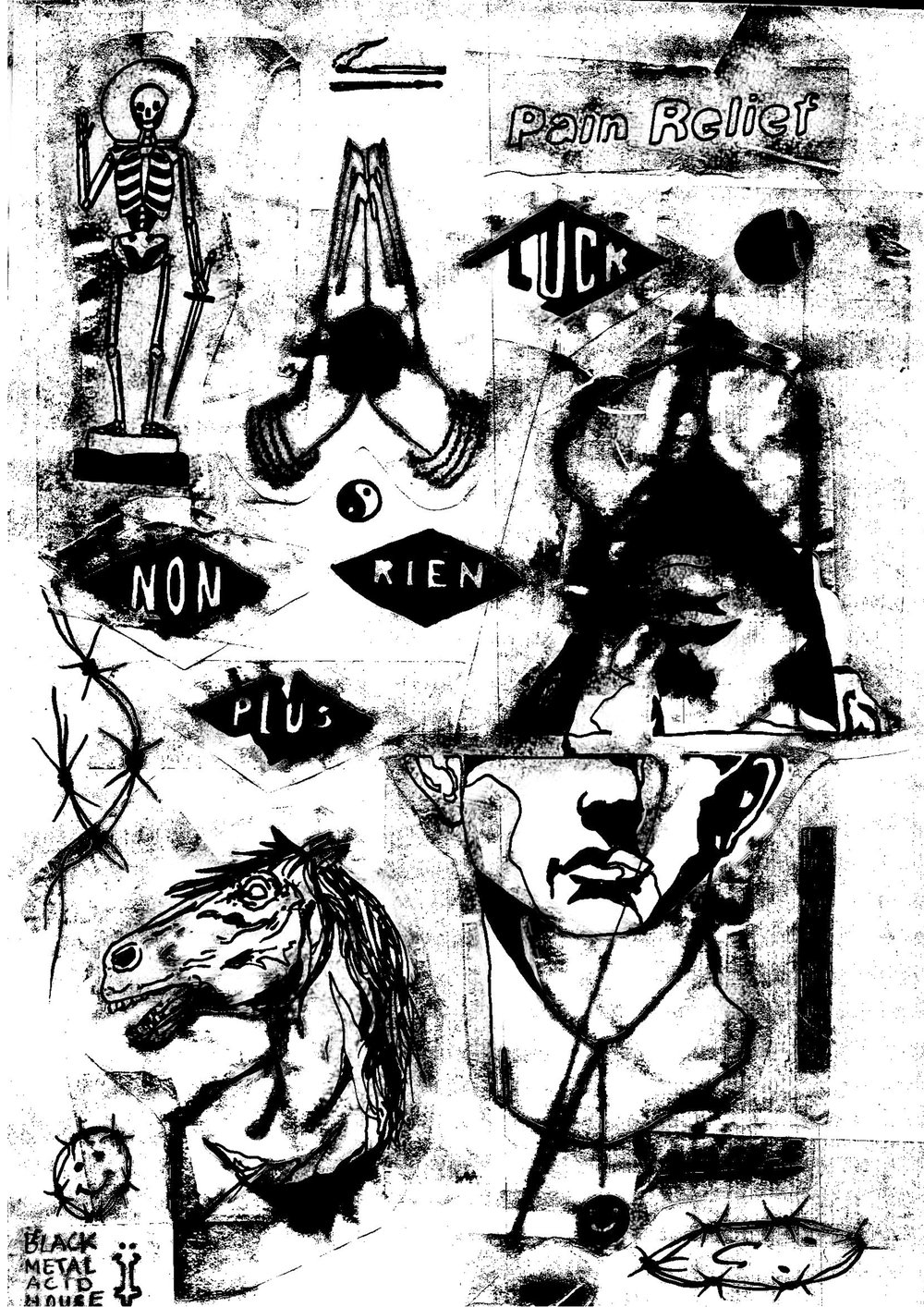 UNTITLED / POSTER    Edition of /10 + 1 AP Digital ink Print on Paper Signed and numbered by the artist 42 × 29.7 cm London, 2018
