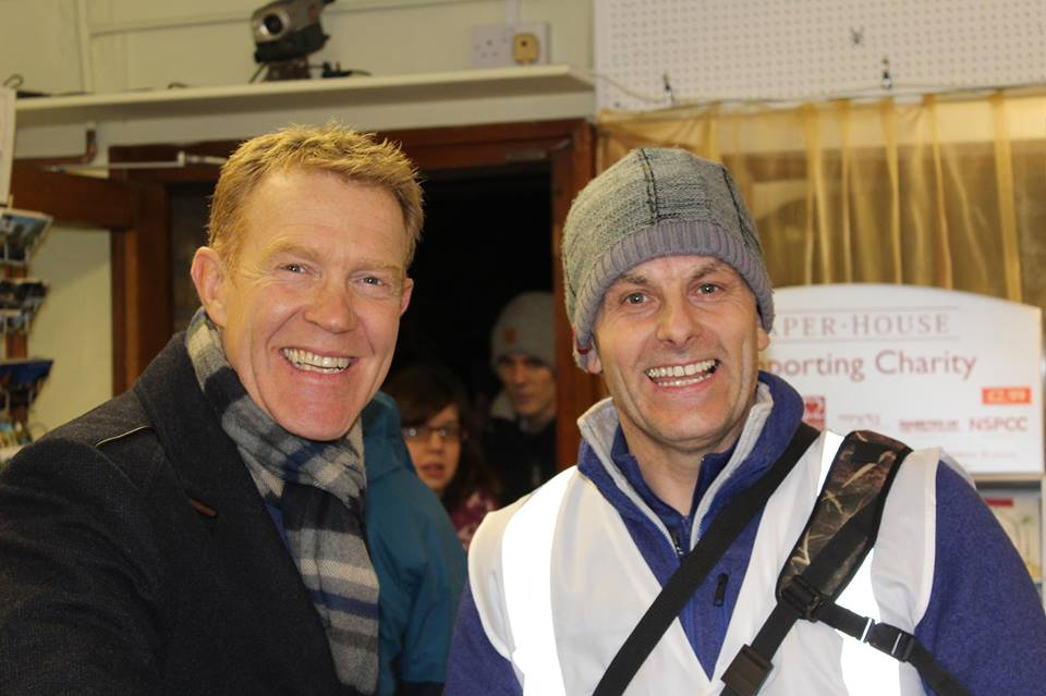 "ADAM HENSON Great to meet up with Adam Henson from the BBC ""Country File""  Adam lives local to Bourton and has a Country Farm just up the road."