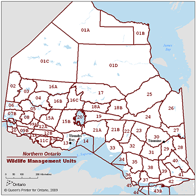 What Ontario WMU are you in? Find out  HERE