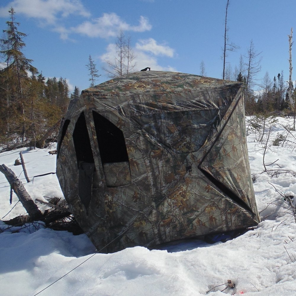 Wolf Hunt | Hunting blind
