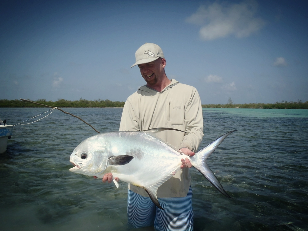 Fly fishing for permit in xcalak mexico the permit people for Fishing in mexico
