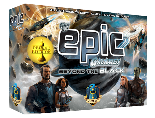 Beyond the Black: Tiny Epic Galaxies (T.O.S.) -  Gamelyn Games