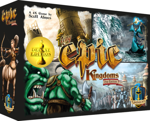 Tiny Epic Kingdoms -  Gamelyn Games