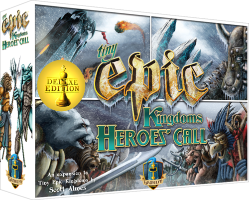Tiny Epic Kingdoms: Heroes Call (T.O.S.) -  Gamelyn Games