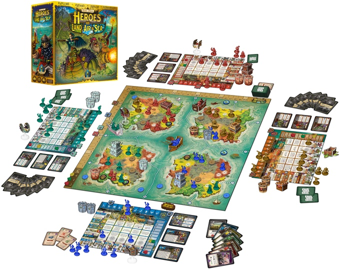 A WARCRAFT® inspired RTS/4X big box board game with miniatures and 3-D constructs! Easy to learn and easy to play for 1-6* players.