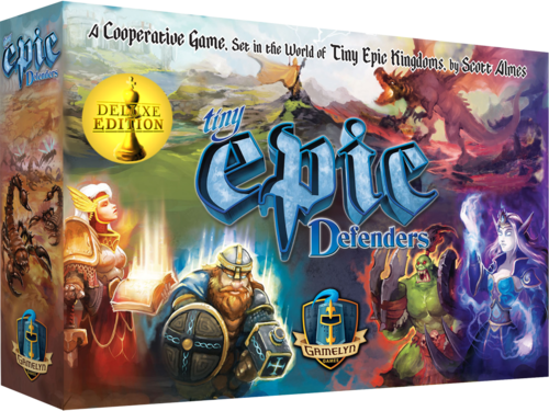 Tiny Epic Defenders 2nd Edition -  Gamelyn Games