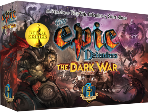 Tiny Epic Defenders: The Dark War (T.O.S.) -  Gamelyn Games