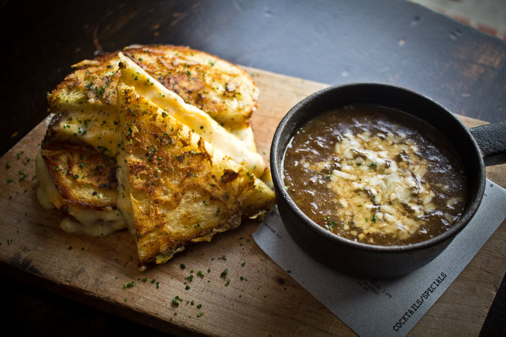 Quarter Special  - Grilled Cheese and French Onion Soup