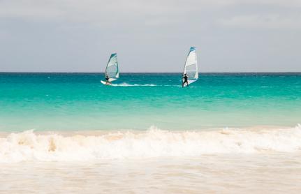 Kapp Verde er ypperlig for deg som elsker windsurfing
