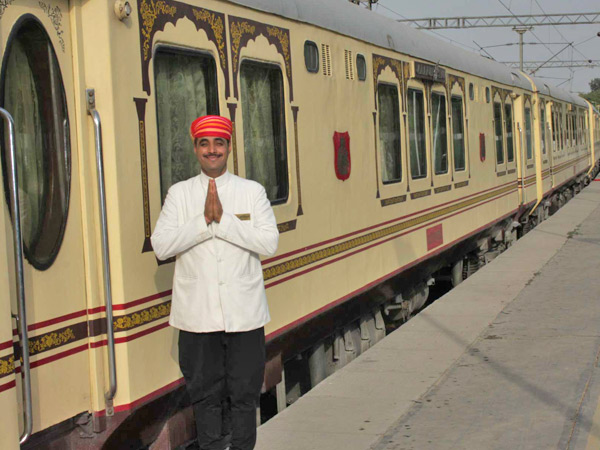 Palace on wheels - en kongelig togreise gjennom eventyret Rajasthan i India