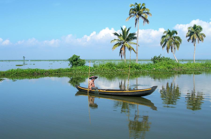 Gudenes hage... Magiske Kerala i India