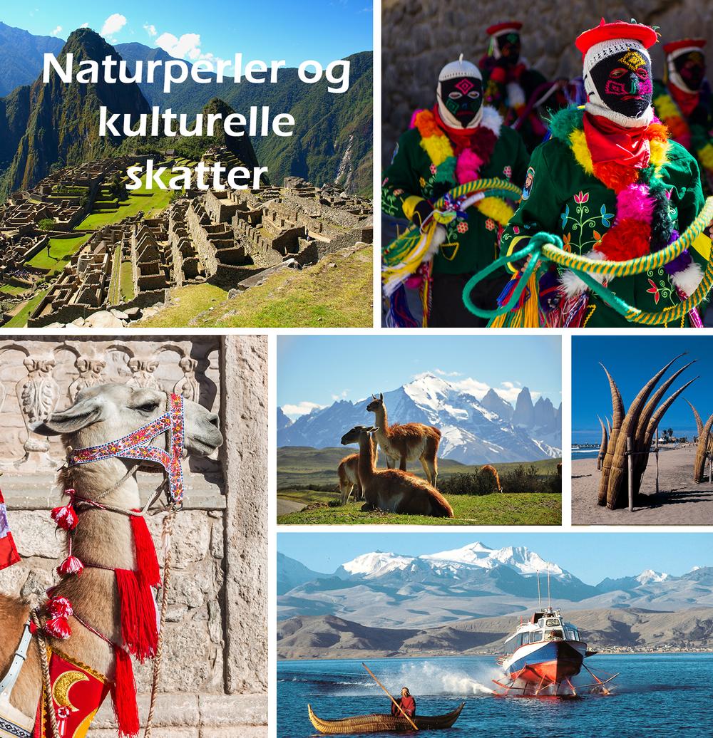 Mytiske og magiske Peru - naturperler og kulturelle skatter