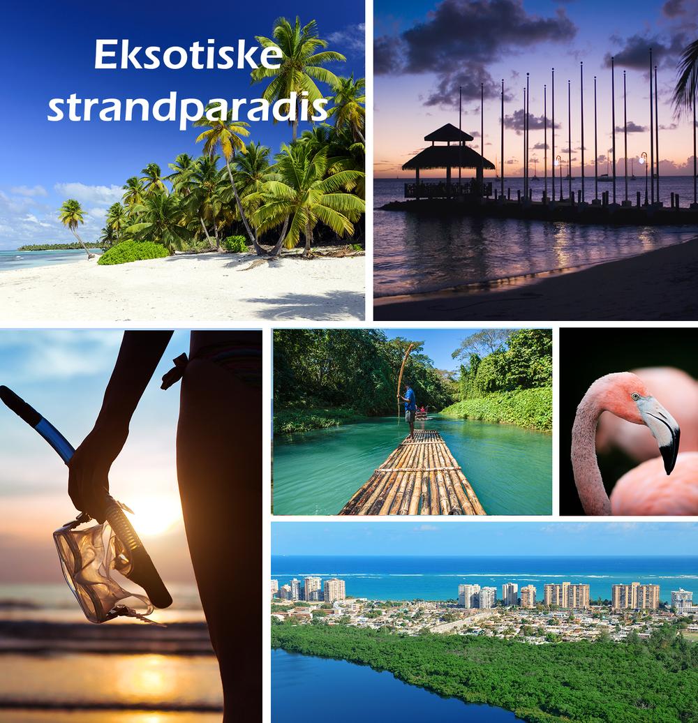 Døsig strandferie eller øyhopping i Karibien. Espnes har mange karibiske øyer, sol, paradisiske strender, vannsport, fargerik kultur og frodig natur.