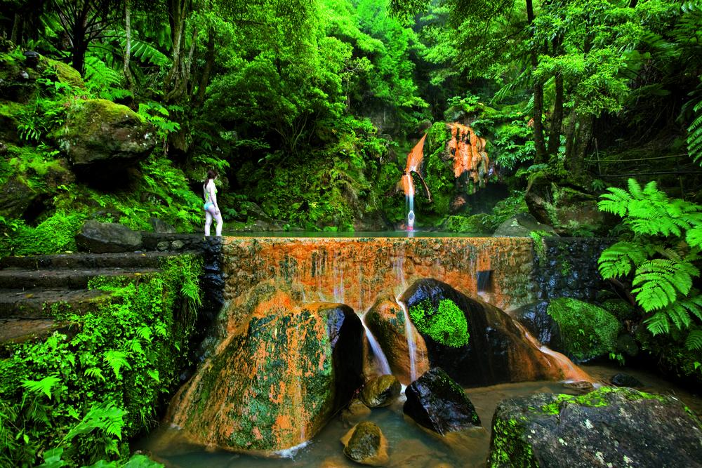 En av mange naturperler på Azorene
