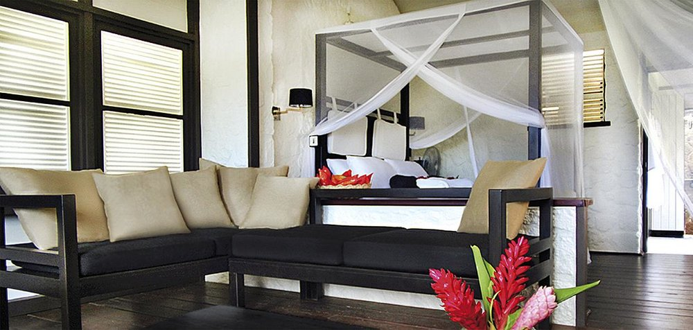 Hotel Boucan by Hotel Chocolat på St. Lucia er et imponerende boutique hotell, beliggende på det eksklusive Rabot Estate, omkranset av regnskog og med flott utsikt til de berømte Pitons.