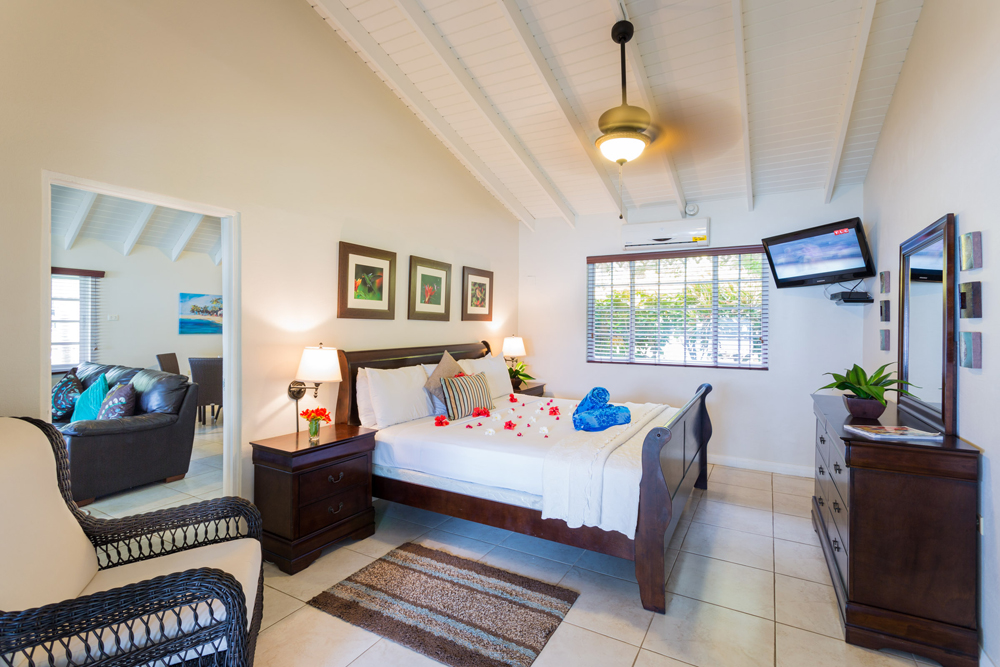 Blue Waters Inn på Tobago er et nydelig hotell som ligger ca 15 minutters gange fra den koselige landsbyen Speyside.