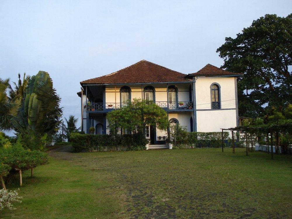 Plantation Sao Joao på Sao Tomé