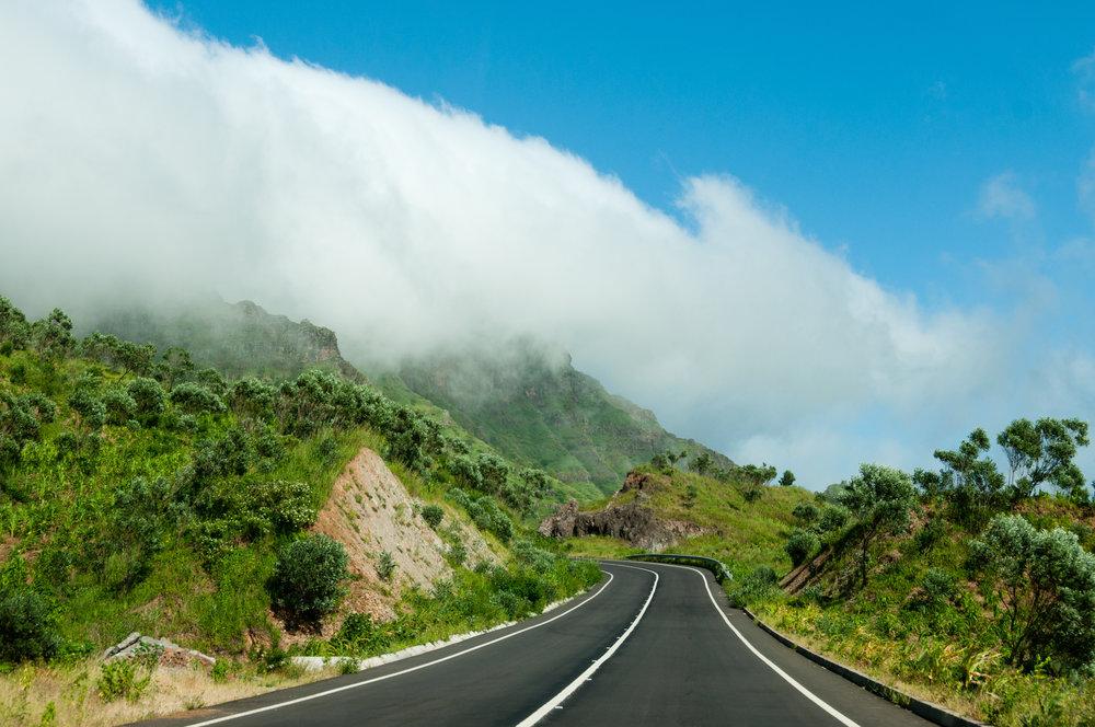 Varierende natur på Kapp Verde