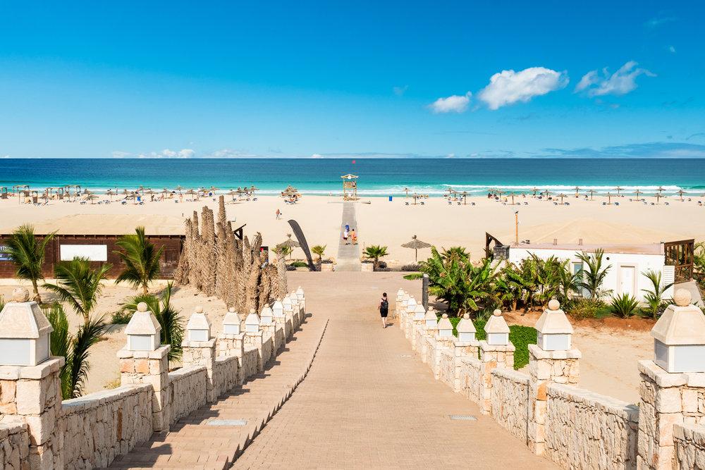 Strandhotell på Sal - Kapp Verde