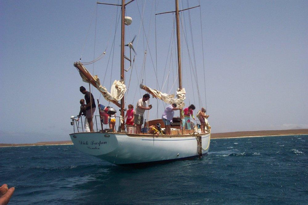Fiske etter marlin er veldig populært på Kapp Verde