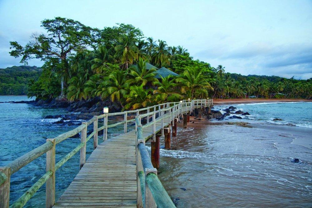 Bom Bom Island Resort Hotel på Principe, Sao Tomé