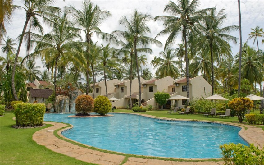 Omali Lodge på Sao Tomé