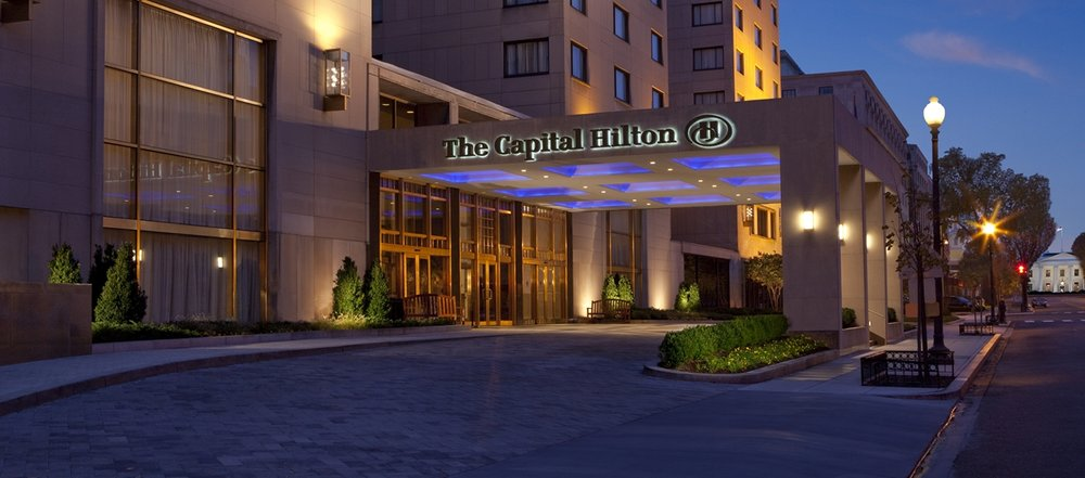 Welcome to the Capital Hilton - 1001 16th Street NW, Washington, DC 20036